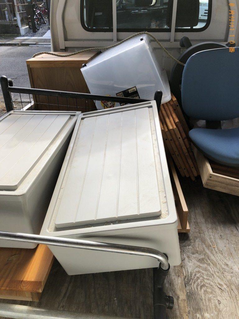 【湖南市】学習机、いす、衣装ケースの回収・処分ご依頼 お客様の声