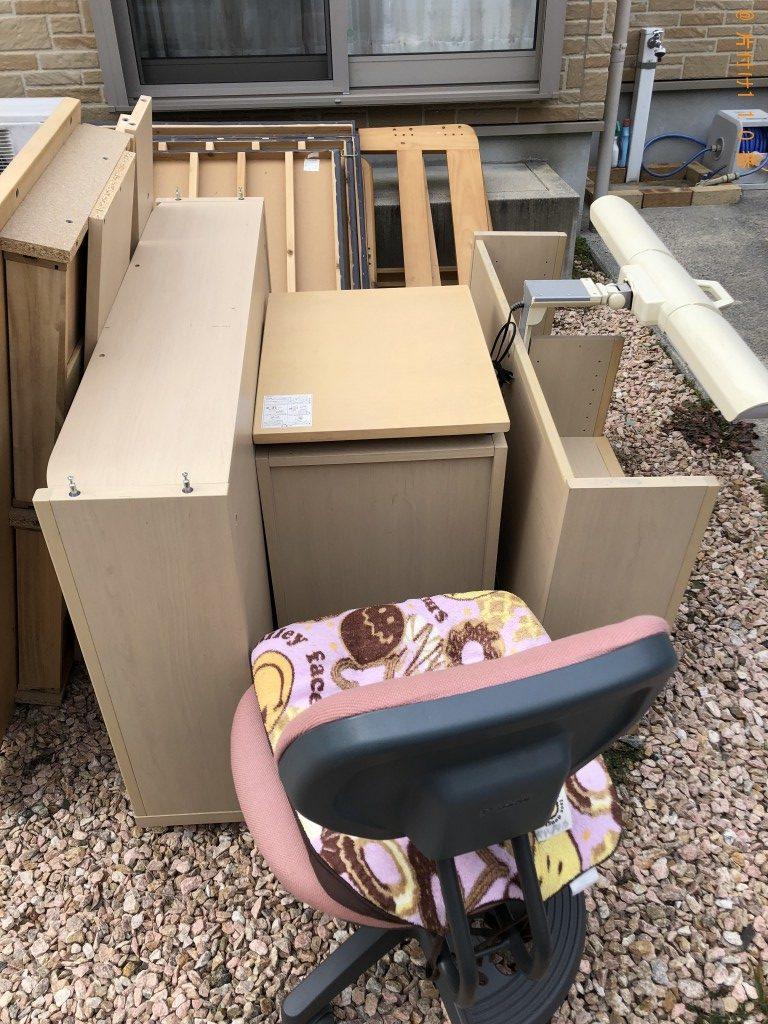 【松浦市】テレビ、シングルベッド、座椅子等の回収・処分