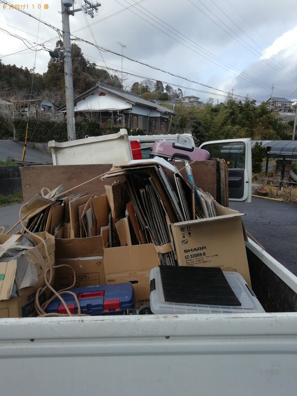 【新上五島町】軽トラック1台程度の出張不用品の回収・処分ご依頼 お客様の声