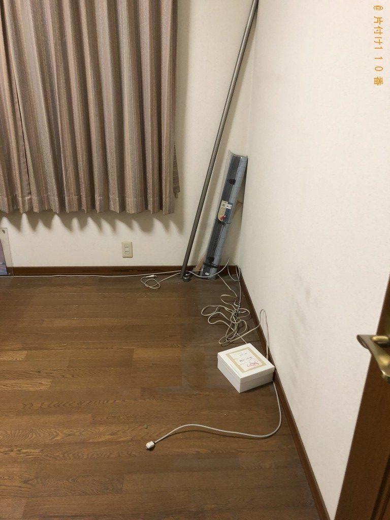 【草津市】エアコン、整理タンス、布団等の回収・処分ご依頼