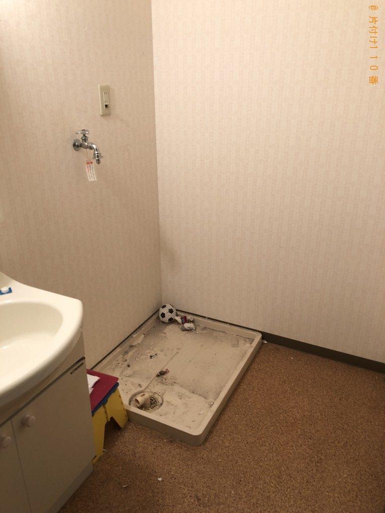 【近江八幡市土田町】冷蔵庫、洗濯機、食器棚の回収・処分ご依頼