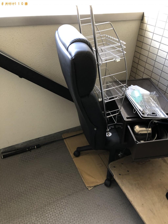 【大津市】オフィスチェア、ラック、衣装ケースなどの回収・処分