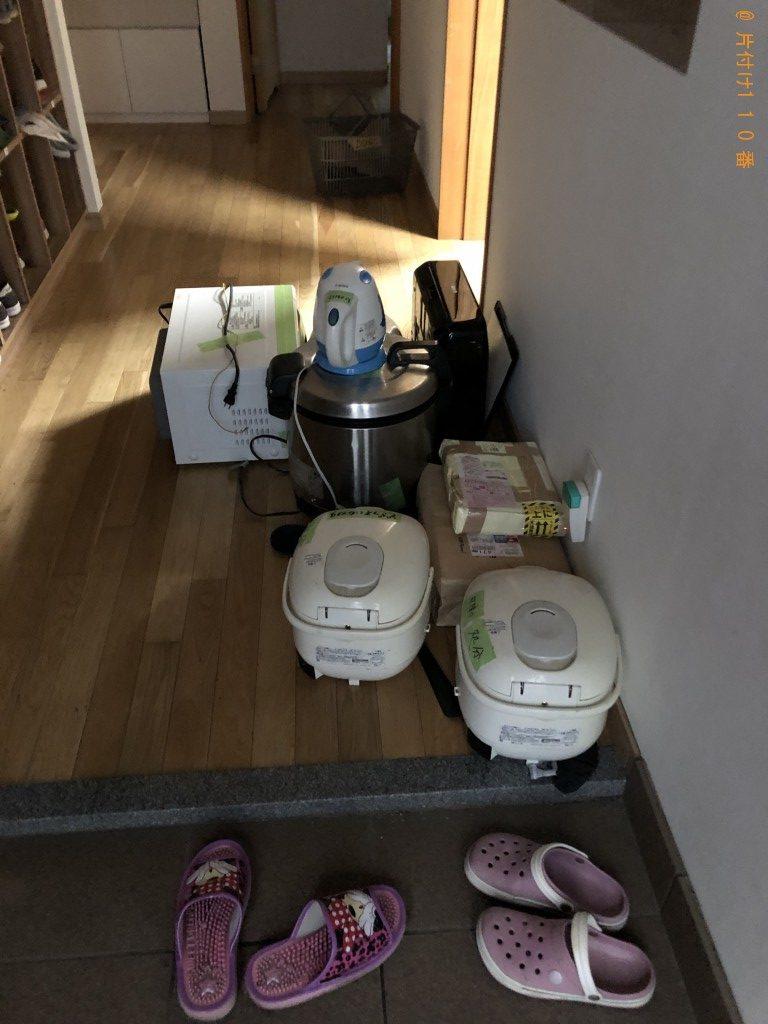 【大津市】冷蔵庫、炊飯器、電子レンジ、プリンター等の回収・処分