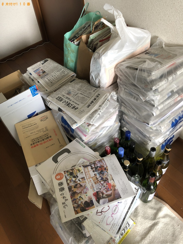 【栗東市】軽トラック1台程度の出張不用品の回収・処分ご依頼