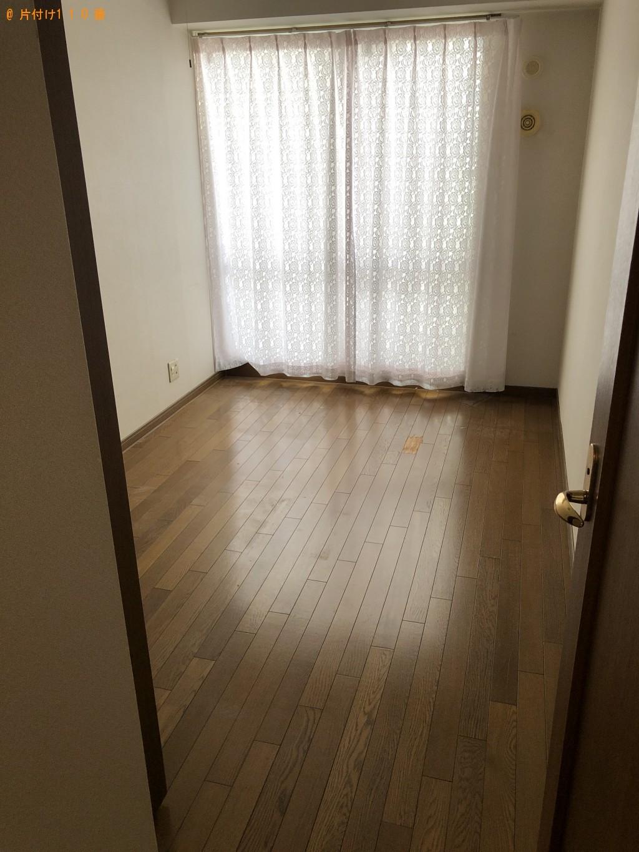 【栗東市】ソファー、ダブルベッド、食品の回収・処分ご依頼