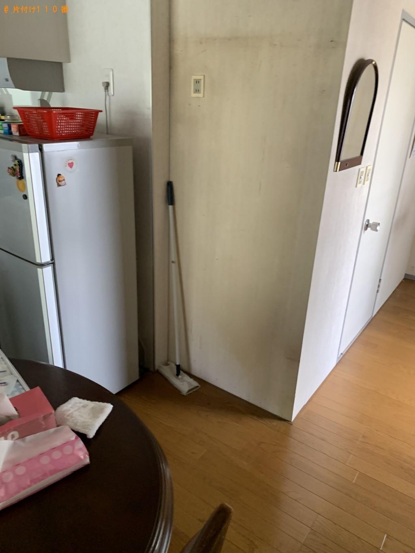 【草津市】食器棚、シングルベッド、布団、食器等の回収・処分ご依頼