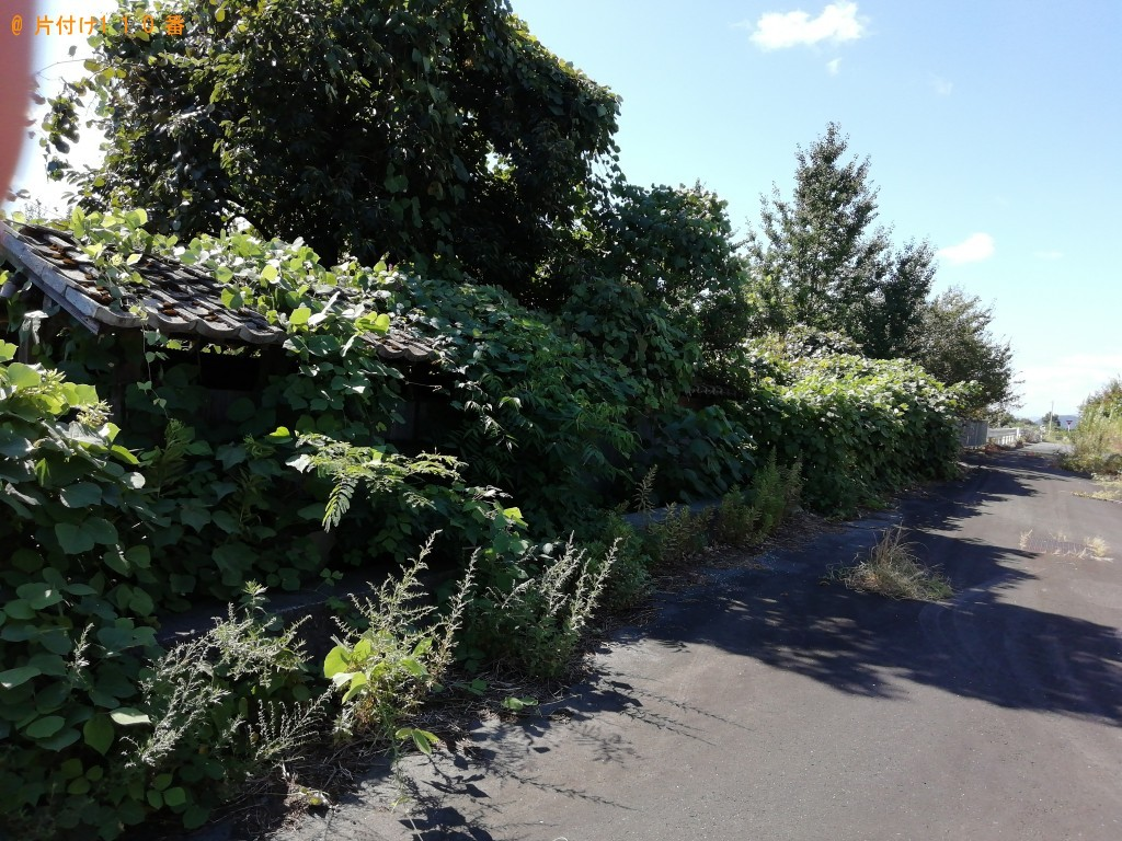 【高島市マキノ町】草刈等庭のお手入れのご依頼 お客様の声