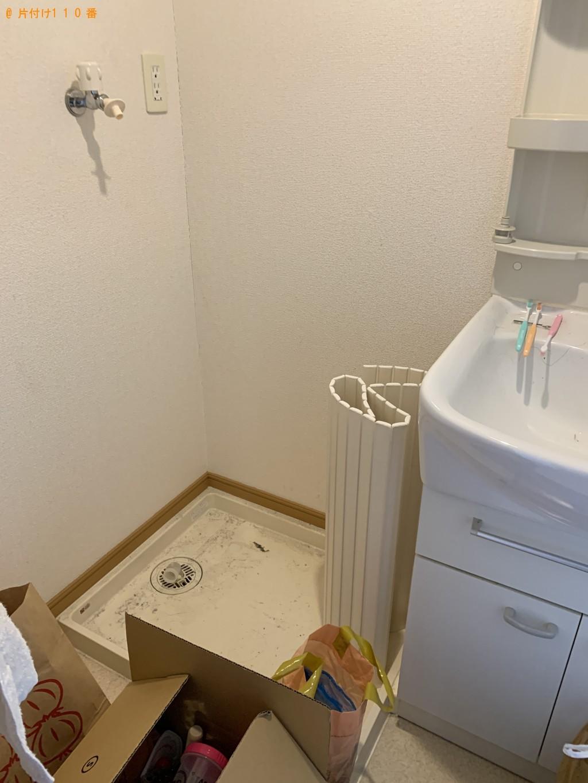 【大津市】冷蔵庫、洗濯機、シングルベッド等の回収・処分ご依頼