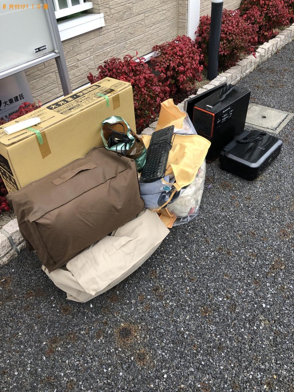 【蒲生郡日野町】パソコン、空気清浄機、照明、ダンボール等の回収