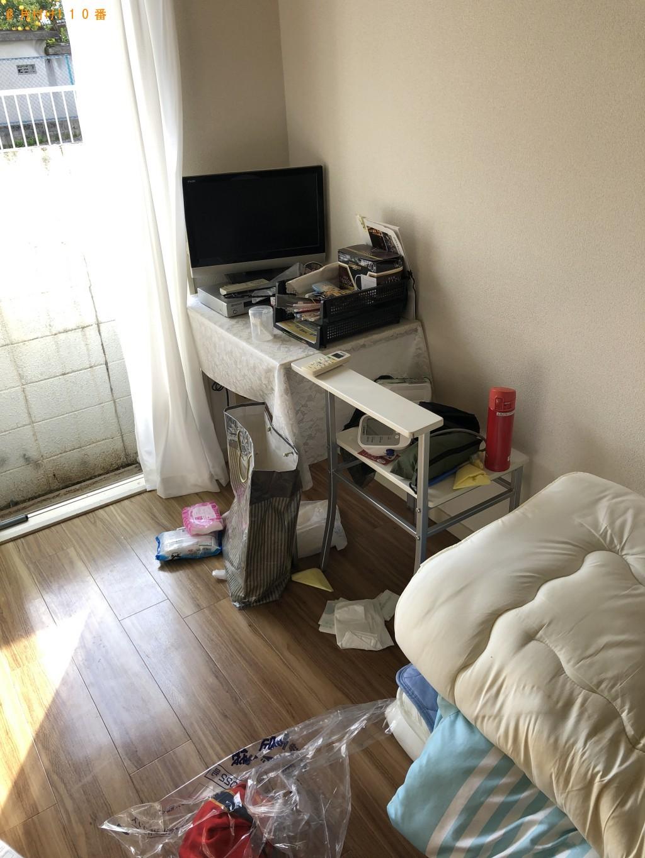【大津市】洗濯機、布団、テレビ等の回収・処分ご依頼 お客様の声