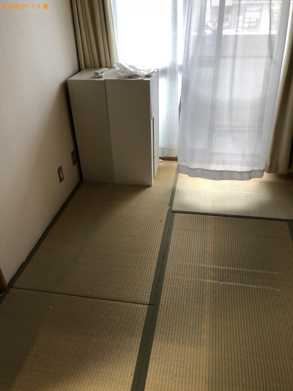 【栗東市】ダブルベッド、鞄、分別なし衣類の回収・処分ご依頼
