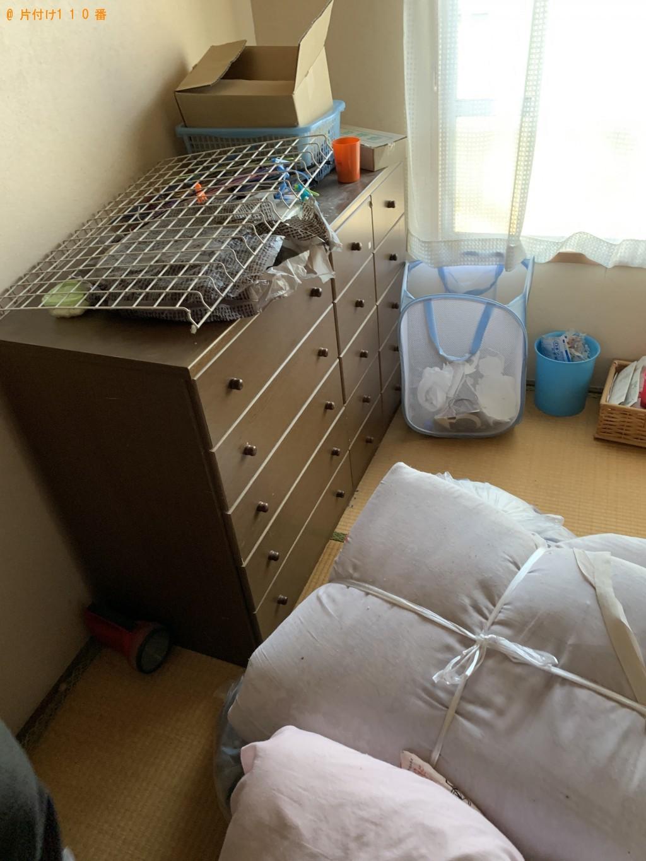 【栗東市】整理タンス、布団、衣類等の回収・処分ご依頼 お客様の声