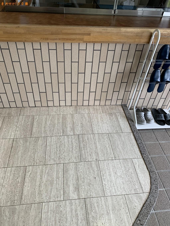 【彦根市】テレビ、ローテーブル、冷凍庫、こたつ布団等の回収・処分