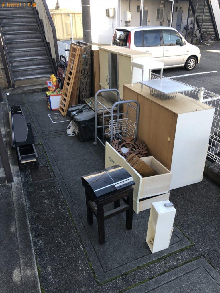 【渋谷区】軽トラック1台程度の出張不用品の回収・処分ご依頼