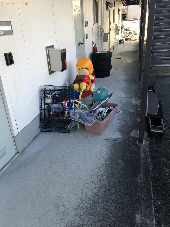 【草津市】軽トラック1台程度の出張不用品の回収・処分ご依頼