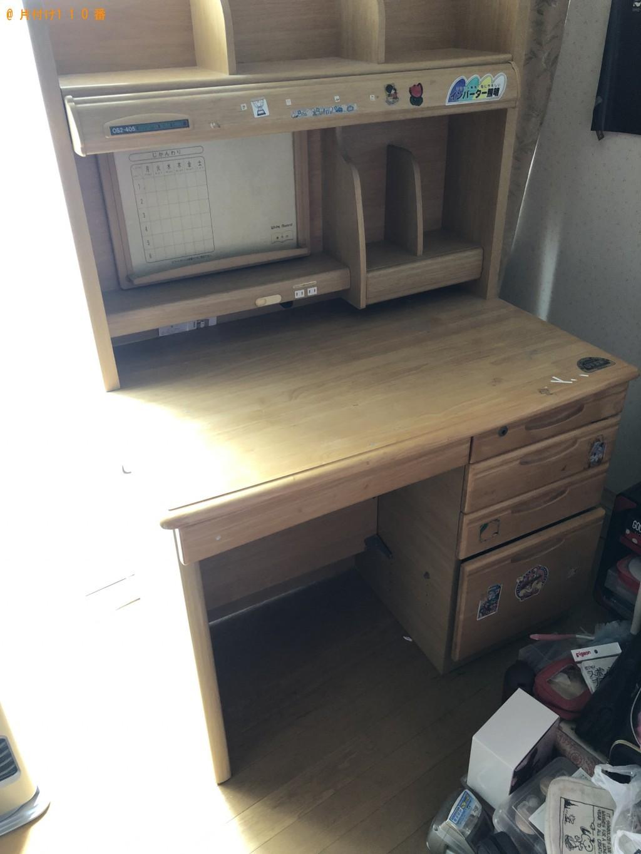 【大津市】学習机、簡易ソファーの回収・処分ご依頼 お客様の声