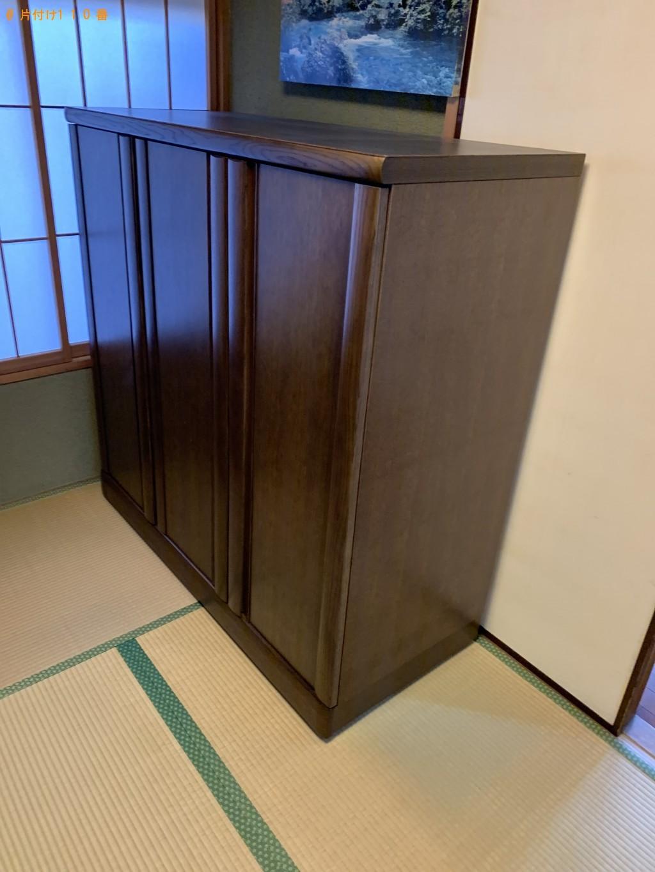 【大津市】整理タンス、食器棚、サイドボードの回収・処分ご依頼