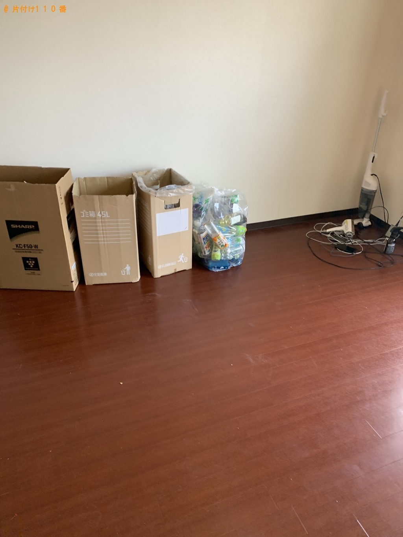 【草津市】洗濯機、冷蔵庫、電子レンジ、物干しスタンド等の回収