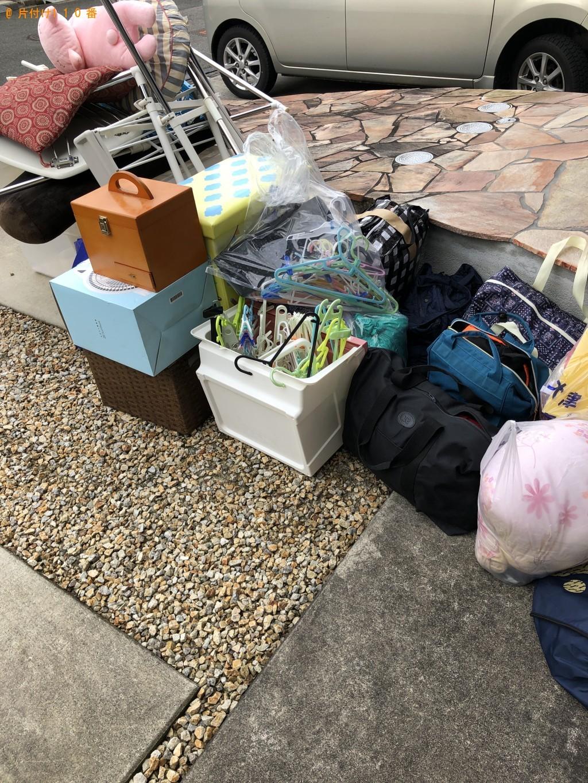 【大津市】物干し台、バッグ、ハンガー、座布団等の回収・処分ご依頼