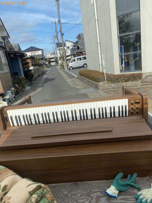 【草津市】電子ピアノの回収・処分ご依頼 お客様の声