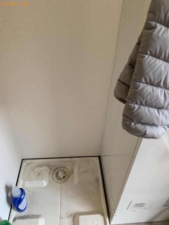 【守山市】冷蔵庫、洗濯機、電子レンジ、シングルベッドの回収・処分