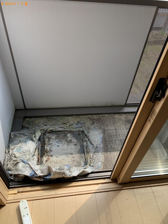 【甲賀市信楽町】冷蔵庫、洗濯機、体重計、シングルベッド等の回収