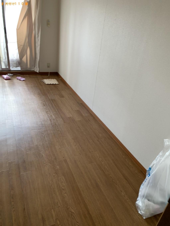 【草津市】冷蔵庫、洗濯機、食器棚、シングルベッド等の回収・処分
