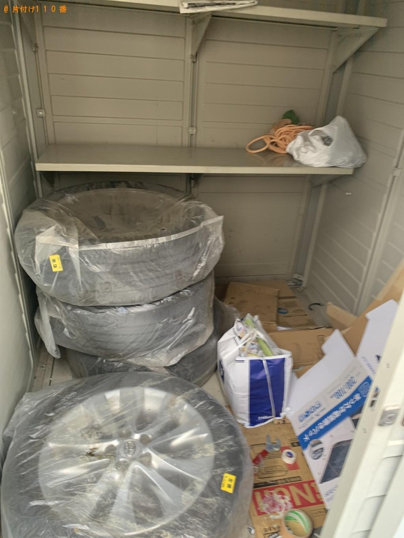 【大津市】原付の部品、業務用冷蔵庫の回収・処分ご依頼 お客様の声