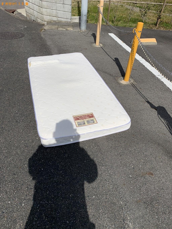 【草津市】シングルベッドマットレスの回収・処分ご依頼 お客様の声