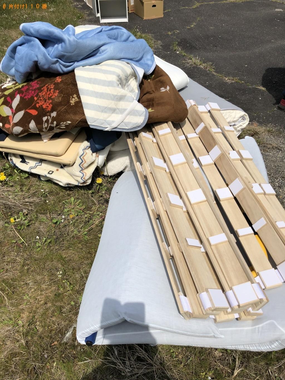 【草津市】ウレタンマットレス、シングルベット、布団等の回収・処分