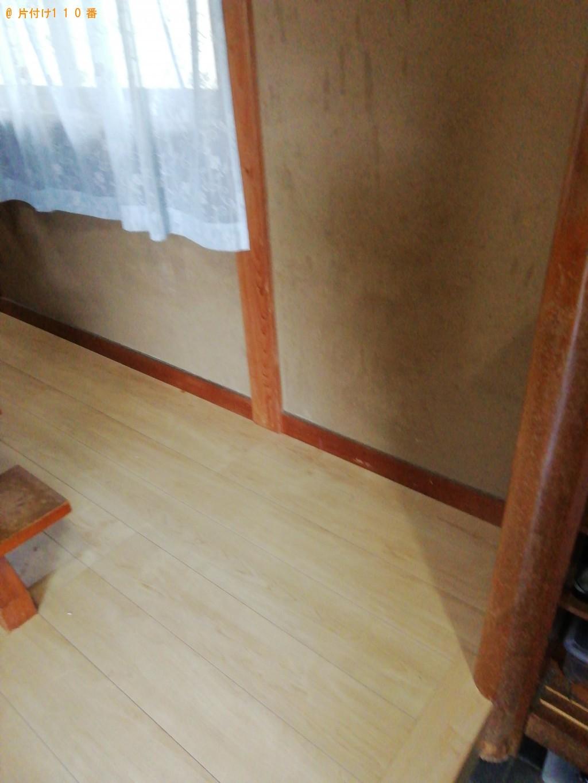 【大津市】レンジ台、健康器具、布団、ペットゲージ等の回収・処分