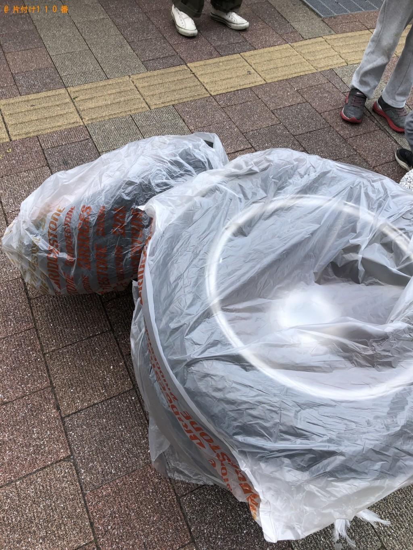 【草津市】ホイール付きタイヤの回収・処分 お客様の声