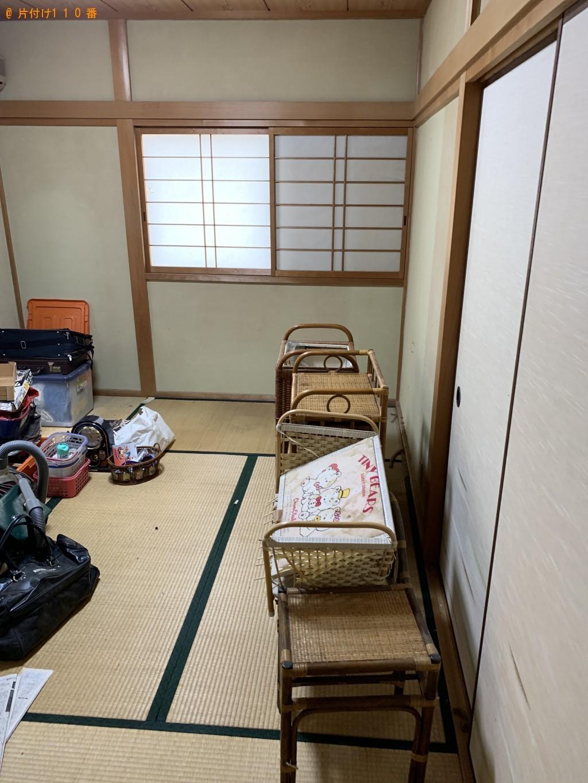 【近江八幡市古川町】ソファー、エレクトーンの回収・処分ご依頼