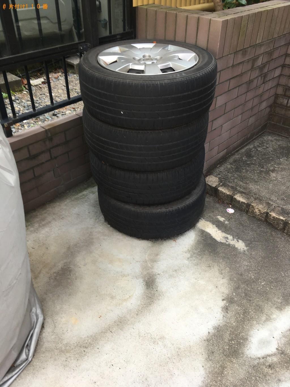 【守山市播磨田町】自動車タイヤの回収・処分ご依頼 お客様の声