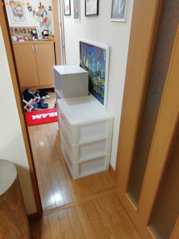 【大津市】こたつ、食器棚、ソファーの回収・処分ご依頼 お客様の声