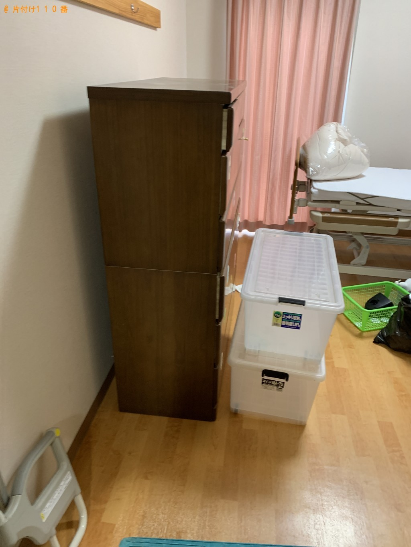 【守山市笠原町】タンス、カラーボックス、衣装ケース等の回収・処分