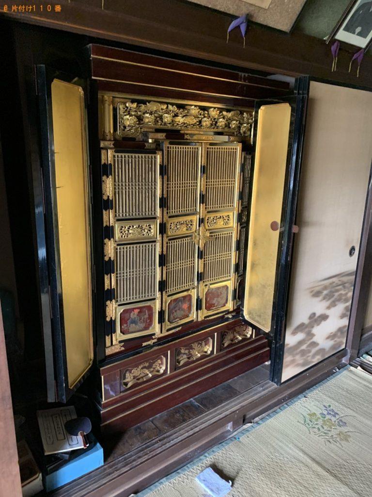 【旭市】仏壇の回収・処分ご依頼 お客様の声