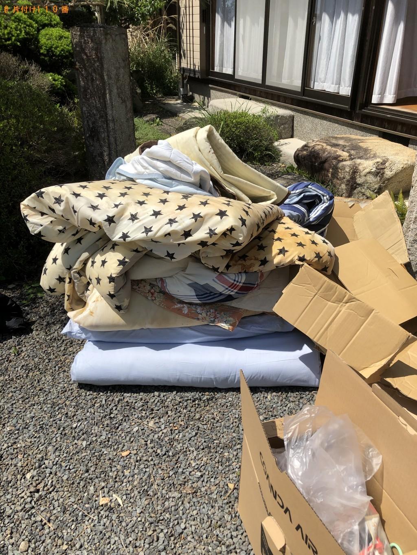【東近江市中戸町】布団、毛布、段ボール等の回収・処分 お客様の声