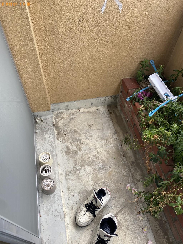 【近江八幡市】洗濯機の回収・処分とエアコンの取り外し お客様の声