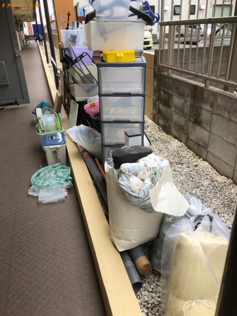 【清瀬市】本棚、衣装ケース、こたつの板等の回収・処分ご依頼