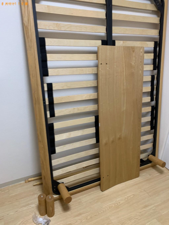 【草津市】ダブルベッド、ベッドマットレスの回収・処分ご依頼
