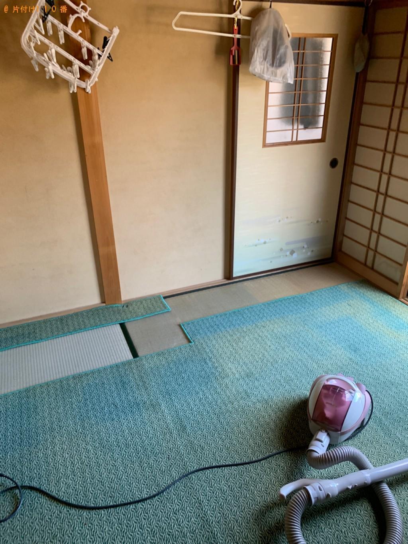 【狛江市】テレビ、洗濯機、本棚、タンス、食器棚等の回収