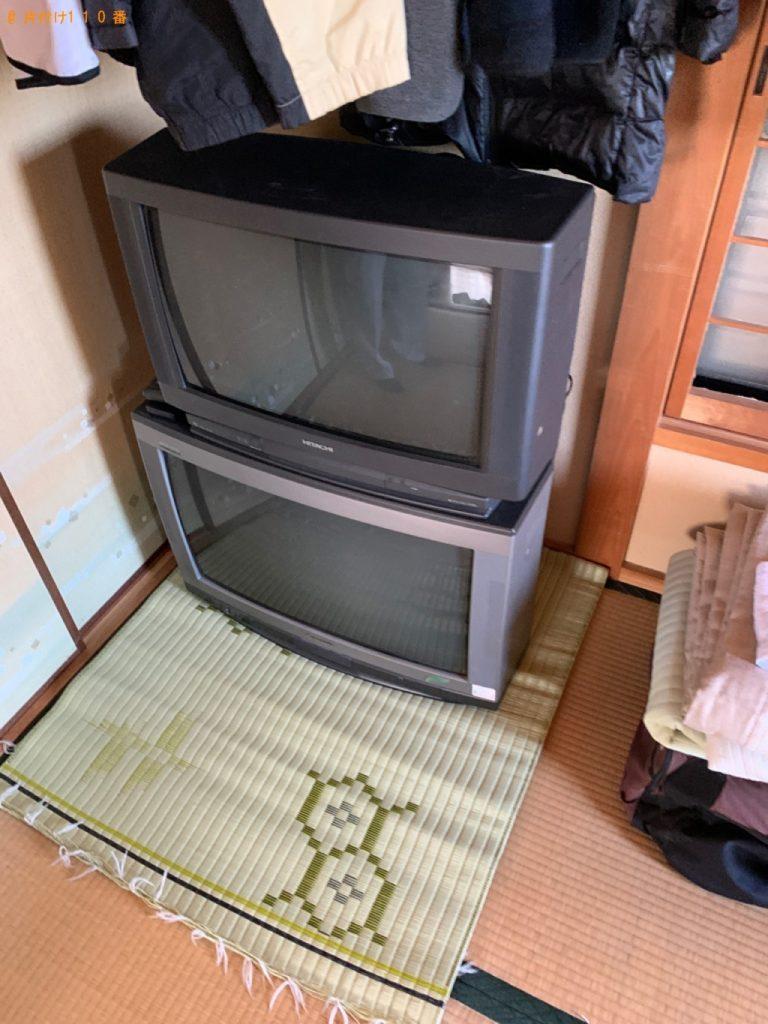 【近江八幡市古川町】テレビ、洗濯機、本棚、タンス、食器棚等の回収