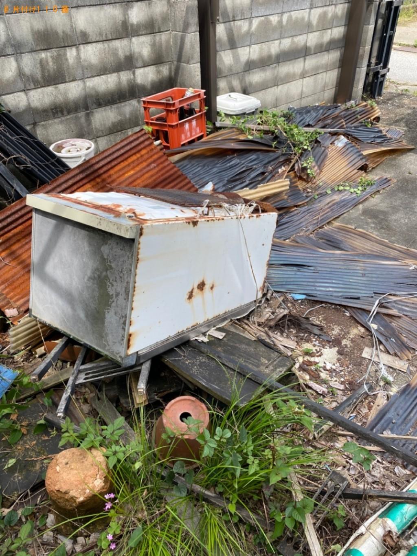 【彦根市栄町】冷蔵庫、テレビ、門、混在ゴミの回収・処分ご依頼
