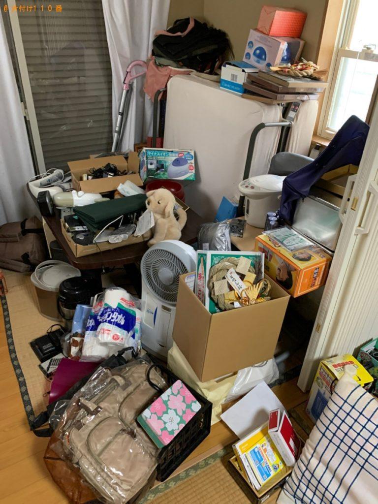 【狛江市】食料品、新聞等の回収・処分とハウスクリーニングご依頼