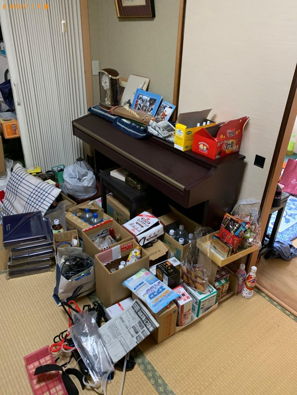 【大津市】食料品、新聞等の回収・処分とハウスクリーニングご依頼
