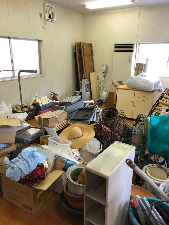 【長浜市平方町】折り畳みテーブル、椅子、バケツ等の回収・処分