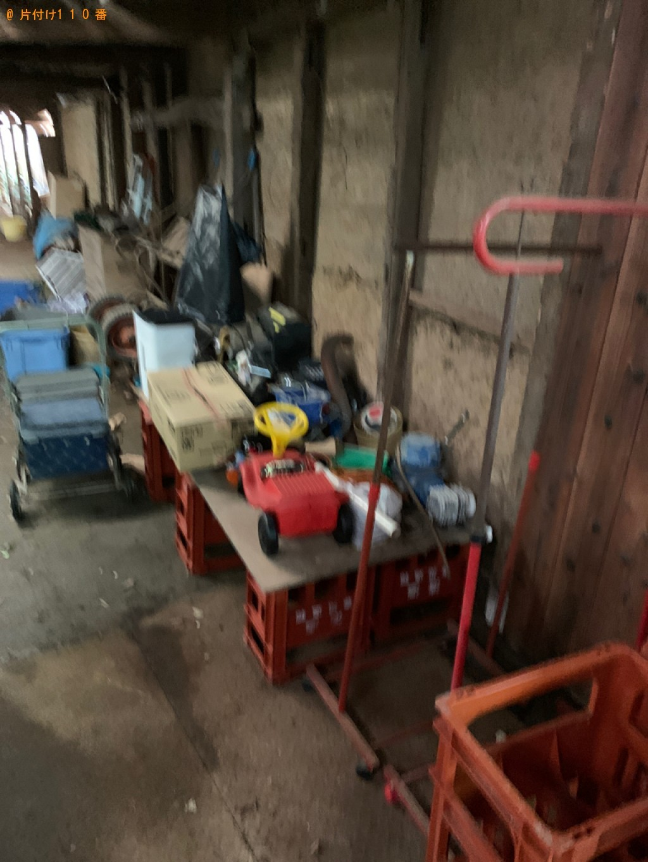 【高島市】健康器具、子供の乗り物、シルバーカー等の回収・処分