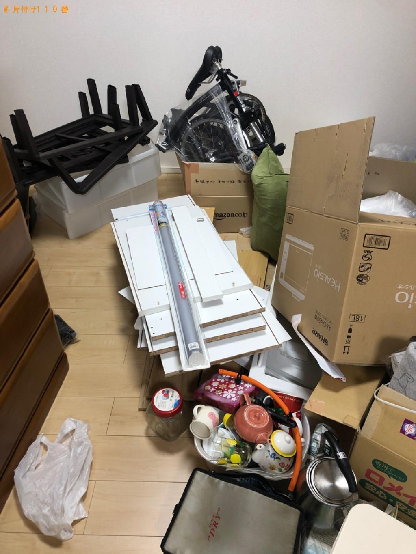 【甲賀市水口町】タンス、食器棚、カーペット、ダンボール等の回収