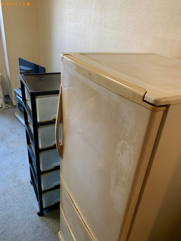 【守山市】冷蔵庫、テレビ、洗濯機、折り畳みベッドの回収・処分